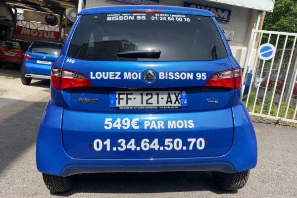 Véhicule sans permis Aixam près de Cergy Pontoise – Bisson 95